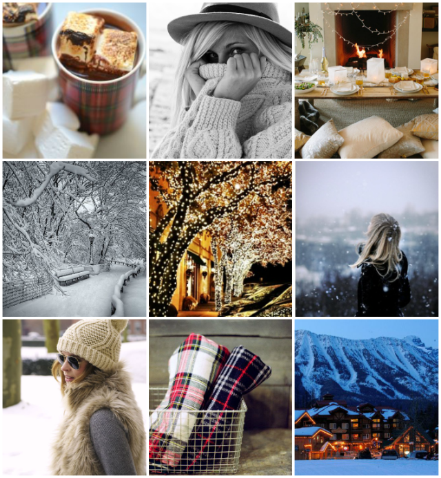 Moodboard ~ Winter fun